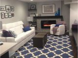 Navy Blue Rugs for Living Room Features Hand Tufted In India Rugs Can Vary Approx 3 4