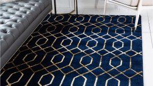 Navy Blue Rugs for Living Room Navy Blue Gold Marilyn Monroe 2 X 3 Marilyn Monroe™ Glam