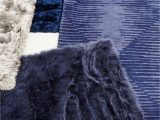 Navy Blue Sheepskin Rug Pin by Marte Paulsen On Carpets and Blankets Faux Fur Rug