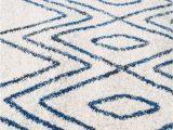 Navy Blue White Rug Newport Navy & White Tribal Pattern Round Rug