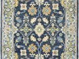 Navy Blue Wool Rug 8×10 oriental Weavers Alfresco Navy Blue area Rug