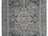 Navy Gray and White area Rug Godmanchester Navy Gray area Rug