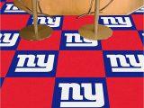 New York Giants area Rug Fanmats New York Giants Team Carpet Tiles