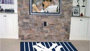 New York Yankees area Rug New York Yankees Team Logo Interior Rug