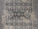 Nicole Miller area Rugs Home Goods Nicole Miller Gray Traditional European Distressed Faded area Rug Bordered 1134