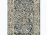 """Nicole Miller area Rugs Home Goods Nicole Miller New York 27"""" X 45"""" Washed Blue Montebello"""