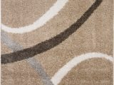 Nicole Miller Synergy area Rug Details About Nicole Miller Designer area Rug Beige White Geometric Swirls Carpet Shag Rug