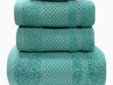 Noble Excellence Bath Rugs Fitchett 6 Piece Cotton Bath towel Set