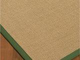 Non Slip area Rug Pad 8×10 Naturalarearugs Hibiscus Sisal area Rug W Free Rug Pad 8 X 10 Green Border Walmart