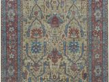 Non toxic Wool area Rugs oriental Hand Knotted Wool Gold Rust area Rug