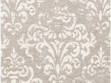 """Nourison Damask Distressed area Rug Nourison Damask Das03 Vintage Distressed Accent area Rug 2 Feet 3 Inches by 3 Feet 9 Inches 2 3"""" X 3 9"""" Ivory Grey"""