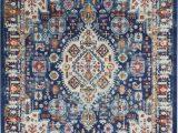 Nourison Passion Multicolor area Rug Nourison Passion Psn29 Blue Multicolor area Rug