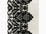 Nuloom Handmade Bold Abstract Floral Wool area Rug Nuloom Delicate Lace Wool Rug Grey