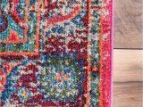 Nuloom Traditional Distressed Medallion area Rug Nuloom Traditional Vintage Mosaic Medallion area Rugs Multi