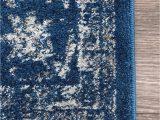 Nuloom Verona Blue area Rug Nuloom Rzbd07c Vintage Persian Verona area Rug 4 X 6 Dark Blue