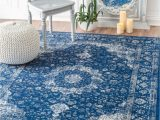 Nuloom Verona Blue area Rug Nuloom Verona Rug In Dark Blue