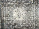 Nuloom Vintage Distressed area Rug Vintage Kellum Slate 12 Ft X 15 Ft Indoor area Rug