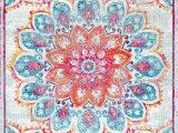 Nuloom Vintage Floral area Rug Nuloom Vintage Floral Kiyoko Pink area Rug