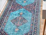 Nuloom Vintage Medallion Veronica area Rug Babita Blue Pink area Rug