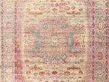 Nuloom Vintage Medallion Veronica area Rug Vintage Style Turkish Distressed Heat Set Medallion area Rug oriental Carpet