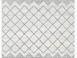 Off White 8×10 area Rugs Buy Luxe Weavers Pancras Moroccan Grey F White Abstract