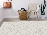 Off White 8×10 area Rugs Ruggable Washable Rug Cover & Pad