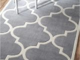 Off White area Rug 5×8 Hand Made Moroccan Wool Rug 5 X 8 5×8 Rug Carpet Gray Grey