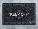 "Off White area Rug Ikea Keep Off"" Designed by Virgil Abloh Men S Artistic Director"