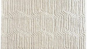 Off White Wool area Rug Nian F White Wool Rug