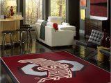 Ohio State Buckeyes area Rug Buy Ohio State Buckeyes Logo Rugs Line