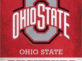 Ohio State Buckeyes area Rug Ohio State Buckeyes Logo Scoreart