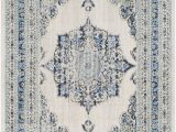 Oppelo Beige Gray area Rug Hillsby Persian Inspired Geometric Blue Beige area Rug