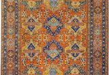 Orange and Blue Persian Rug the Meaning Of Color In Persian and oriental Rugs