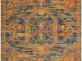 Orange and Blue Runner Rug Amazon Brand Movian Osam Rectangular Accent Runner Rug 289 6 Cm X 200 7 Cm L X W Geometric Pattern orange Blue