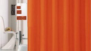 Orange Bathroom Rugs and towels Luxury Home Collection 18 Pc Bath Rug Set Embroidery Non Slip Bathroom Rug Mats and Rug Contour and Shower Curtain and towels and Rings Hooks and