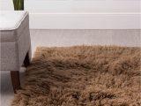 Organic area Rugs Made In Usa Super area Rugs organic Wool Greek Flokati Rug Brown 5 X 7
