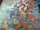 Orian Rugs Fleet Gray area Rug orian Rugs Watercolor Scroll Multi Colored area Rug or Runner