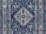 Orian Rugs Manor Gate Blue Mountview oriental Navy Blue White area Rug