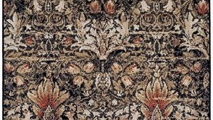 Oriental Weavers Braxton area Rug Superior Designer Braxton area Rug Collection Gorgeous Floral Lotus Pattern 6mm Pile Height with Jute Backing Affordable and Beautiful Rugs 5 X