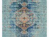 "Oriental Weavers Braxton Multi area Rug Bridgeport Home Brio Bri6 Turquoise 9 10"" X 13 area Rug"