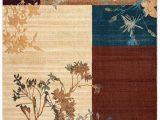 Oriental Weavers Of America Harper Multicolor Indoor area Rug Rizzy Home Bellevue Block Floral Rug