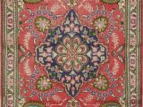 Ottomanson Royal Collection area Rug Vintage Floral Tebriz Classic Hand Made area Rug Traditional oriental Carpet 3×5
