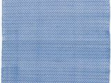 Outdoor Blue and White Rug Herringbone French Blue White Indoor Outdoor Rug