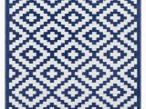 Outdoor Blue and White Rug Nirvana Outdoor Recycled Plastic Rug Navy Blue White