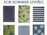 Outdoor Rug Blue and Green Over 20 Gorgeous Outdoor Rugs In Beautiful Blue and Green