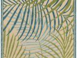 Outdoor Rug Blue and Green Portera Outdoor Rug In Sky Blue & Dark Green – Burke Decor
