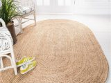 Oval area Rugs Near Me Natural 5 X 8 Braided Jute Oval Rug