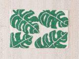Palm Leaf Bath Rug All Over Palm Bath Mat Bath Mat Tropical Bathroom Room