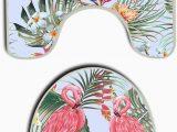 Palm Leaf Bath Rug Us Tang Flowers Flamingo Green Palm Leaf Bath Mat Bathroom
