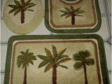 Palm Tree Bathroom Rug Set 3 Pc Palm Tree Bathroom Set Bath Mat Carpet Contour Rug